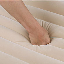 Durable & Strong PVC materials Inflatable Mattress skytone best use kid night universal