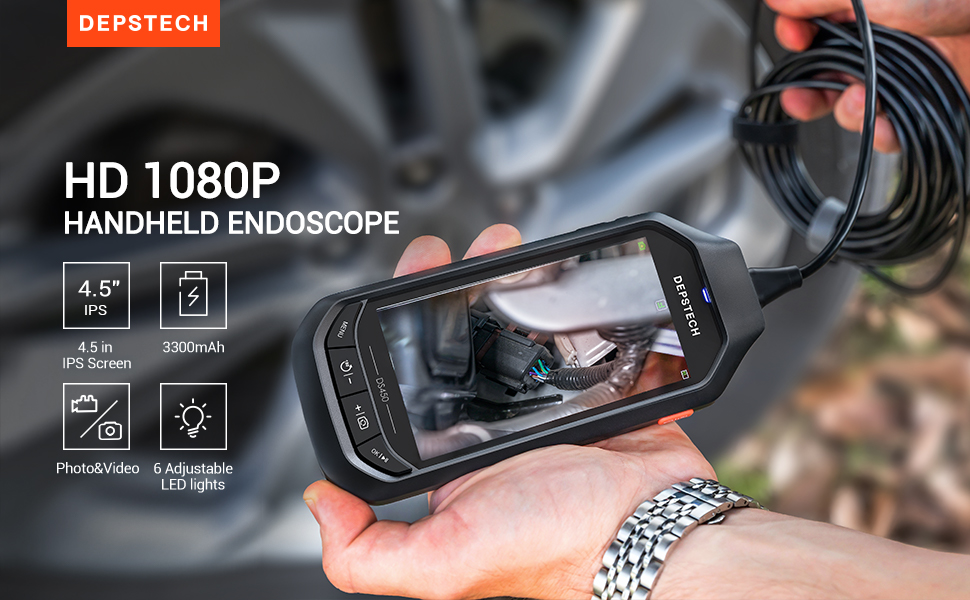 DEPSTECH 1080P Endoscope
