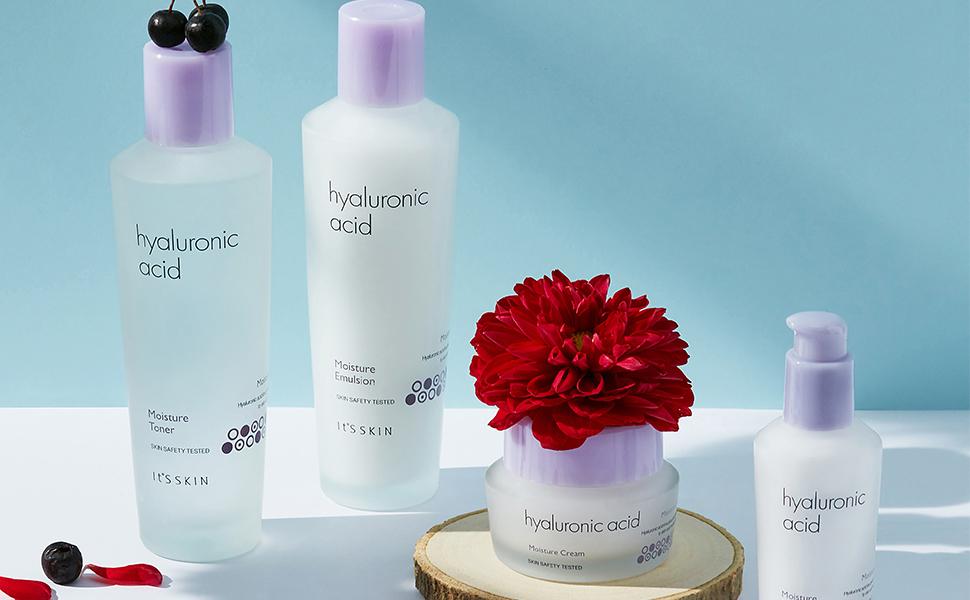 bộ sản phẩm It's Skin Hyaluronic Acid