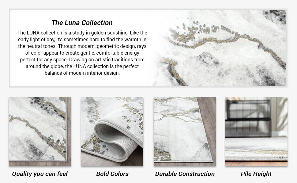 Abani Rugs Luna Collection