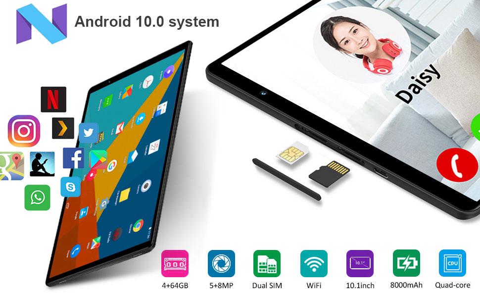 4G Tablet 10.1 Pollici con WIFI Offerte