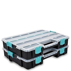 boite outil vide rangement bricolage rangement empilable