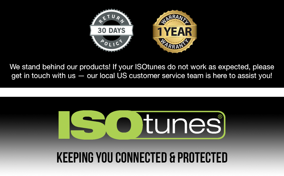 isotunes bluetooth headphones earphones blocking isolating sound reducing noise reduction isolation