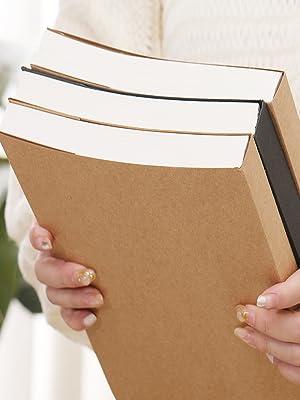 Black case, 110 G sketch paper inside pages