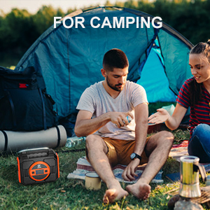 portable power station for outdoor camping
