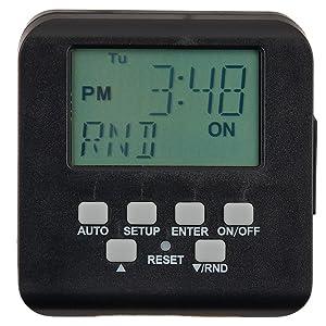 digital timer for low voltage transformer