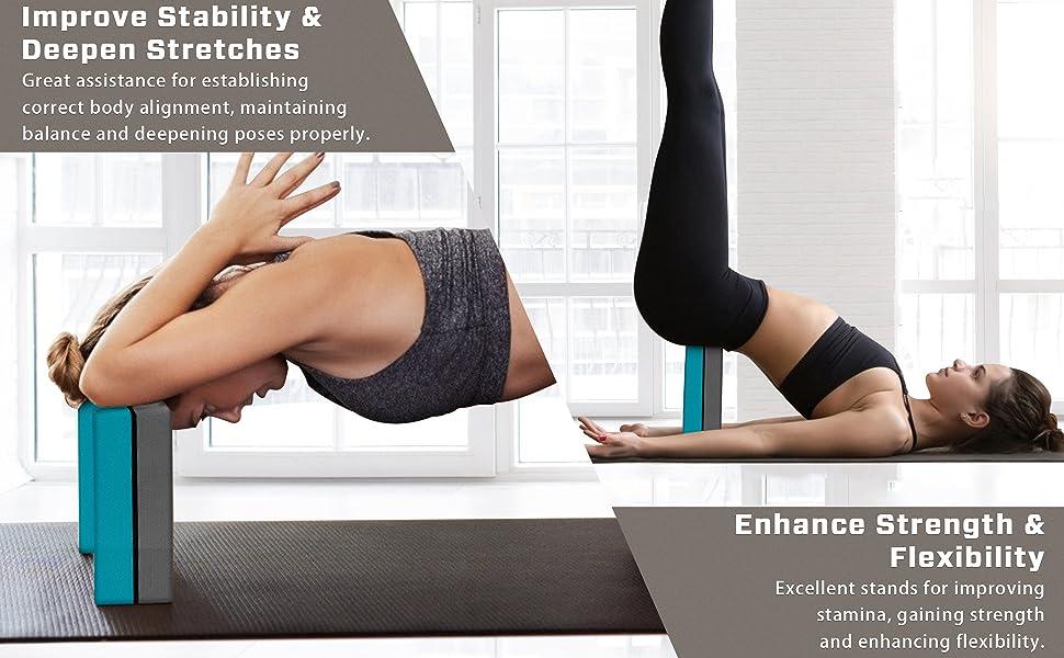 Yoga Blocks Set
