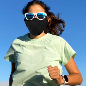 running exercise active lifestyle face mask