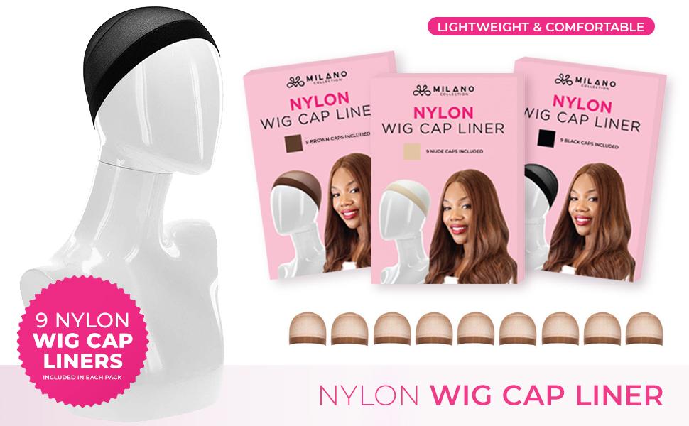 Lightweight amp; Comfortable Nylon Wig Cap Liner