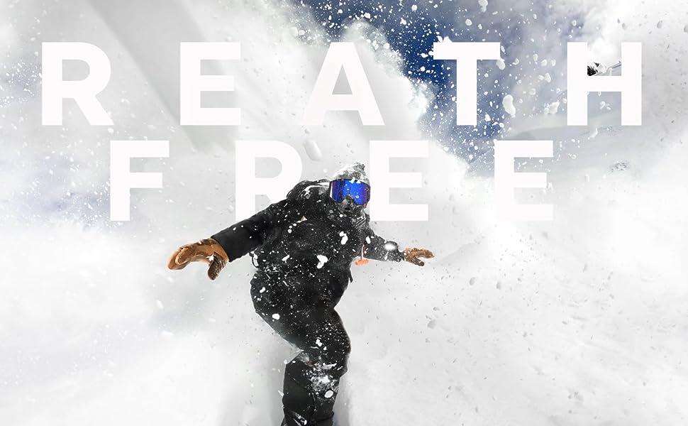 Airhole Bucket Tech Hat 3 Layer Charcoal S//M M//L Ski Snowboard Bargain