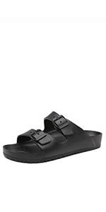 eva buckle slippers