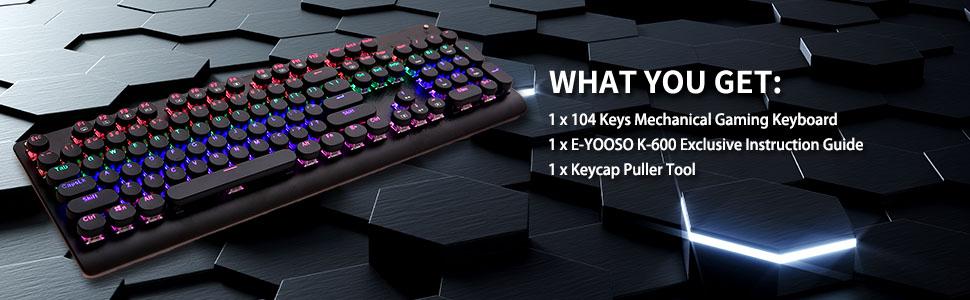 104 keys