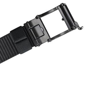 Bullko Web Nylon Belts for Men Adjustable Automatic Slide Click Ratchet Golf Belt