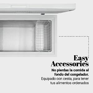 UNIVERSALBLUE - Congelador Dual - Volumen 290 litros: Amazon.es: Electrónica