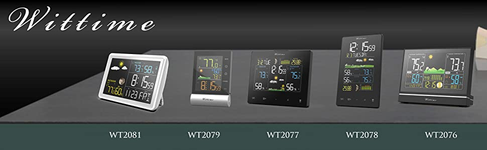 Wittime  logo with all the weather stations