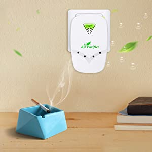 Smoke purifier for small space, air freshener remove smoke smell