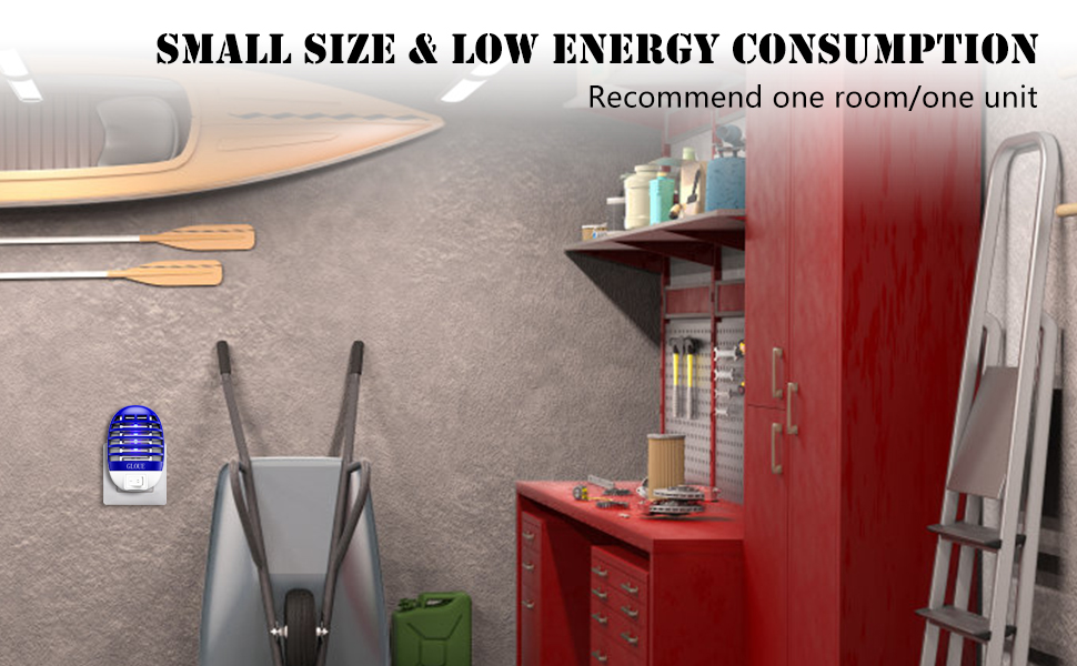 Small size & low energy consumption.