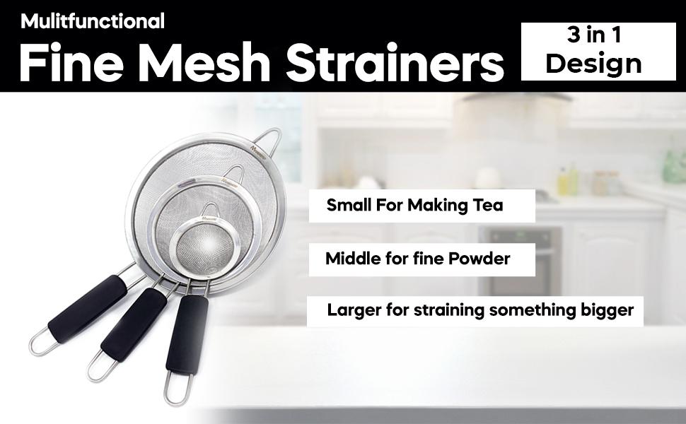 fine mesh strainers