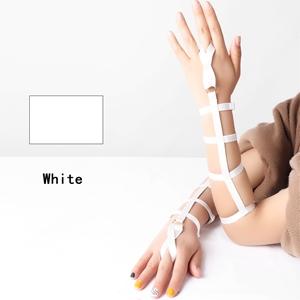Harness Garter Belt+white
