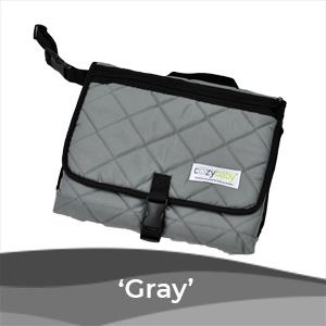 baby changing pad gray