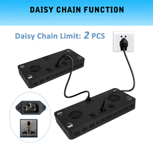 DR.BIGG Lights are Daisy Chainable