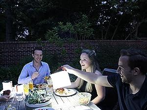 Backyard Solar Lantern Lighting