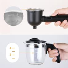 espresso maker milk frother