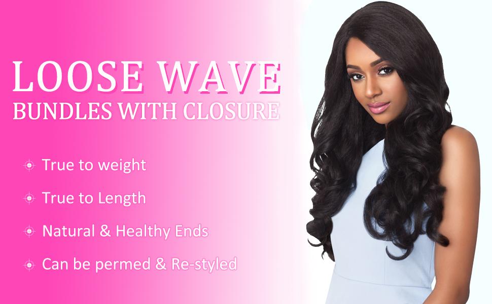loose wave bundles