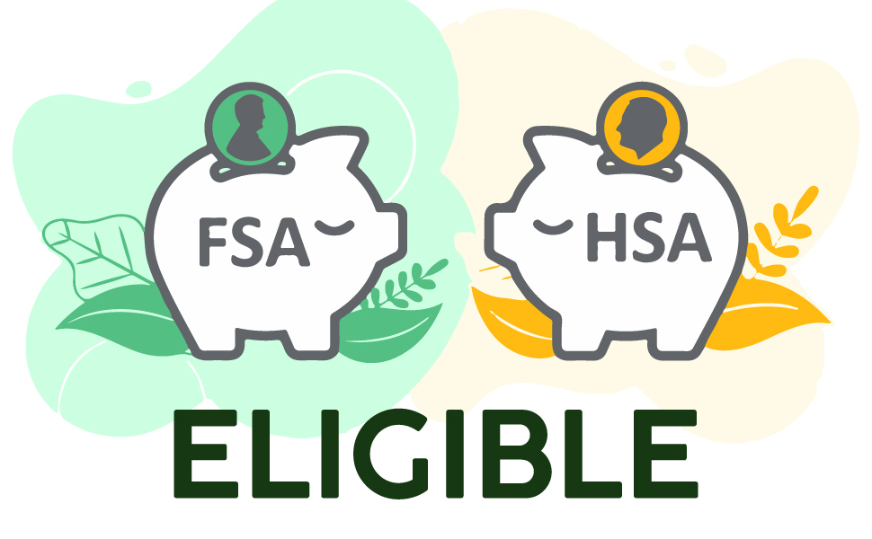 FSA Approved item product HSA Approved item product FSA Eligible item product HSA Eligible item