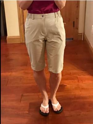 Women longer shorts