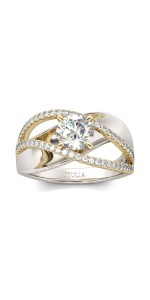 wedding ring sets for her