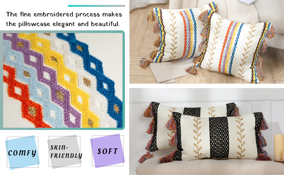 white and black decorative pillows throw pillows textured boho decorative pillows small gold pillow
