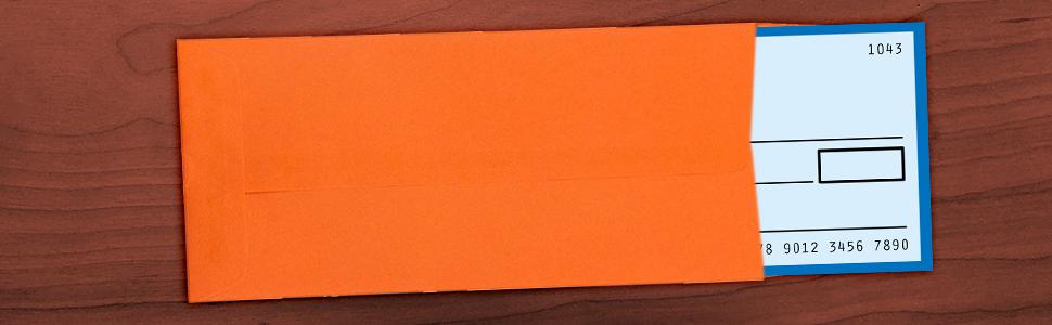 orange #11 policy envelope