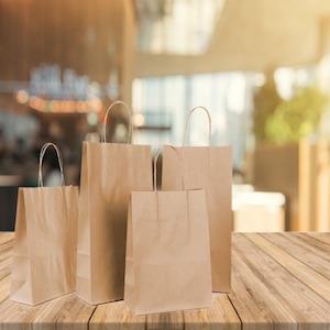 Brown Paper Bags with Handles Bulk Gift Bags Kraft Bags Wholesale retail bags Brown gift bags