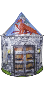 Dragon and Knight Castle Play Tent