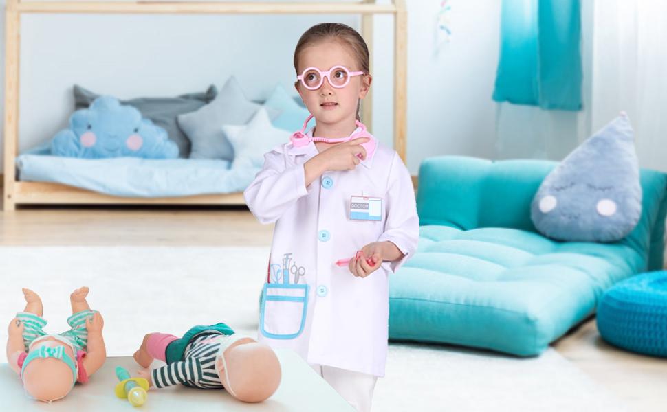 doctor coat kids