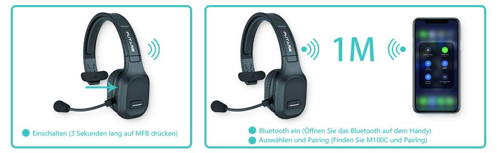 Schritte zur Bluetooth-Verbindung