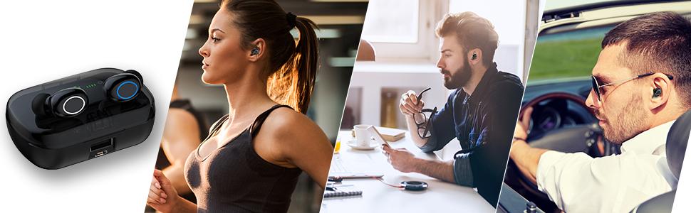 mini wireless earbuds