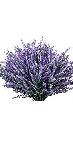 flower plant artificial lavender purple