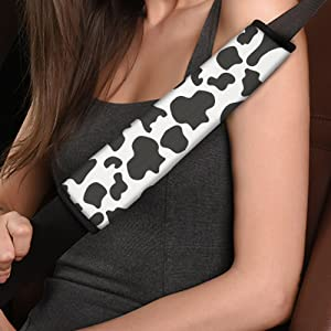 Cow Print Shoulder Pads