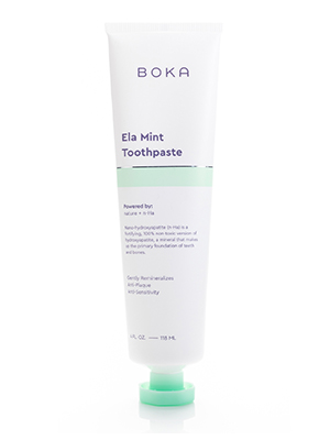boka health oral care ela mint nha toothpaste nano hydroxyapatite