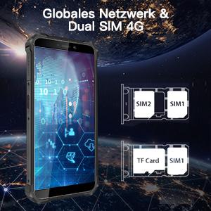 OUKITEL WP5 Robustes Telefone Mobiletelefon IP68 Militär Mobiltelefon 4G Handy