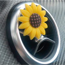 beautiful sunflower car accessories