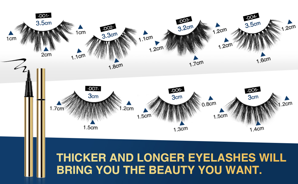 5d Look lashes