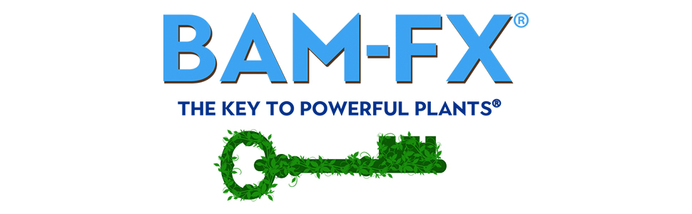 BAM-FX the key to powerful plant growth, plant food, live indoor plants