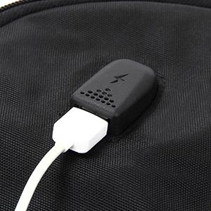 Handset USB charging jack
