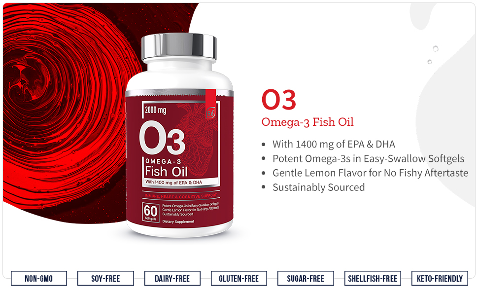 Omega 3, Fish Oil, Easy, Swallow