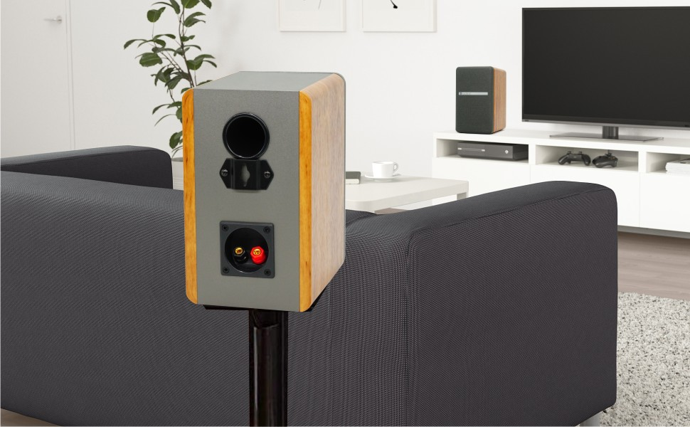 Wooden Speakers for Home Theater
