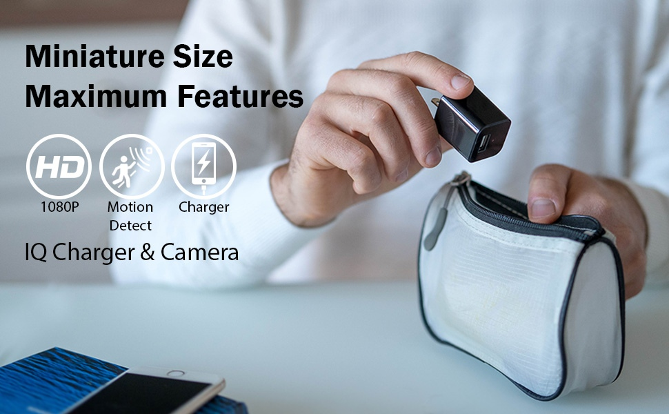 spy camera charger