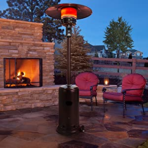 outdoor heaters for patio propane